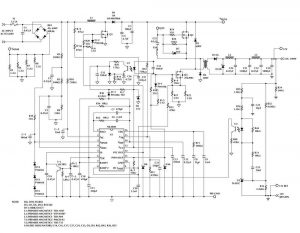 MEAN WELL 320W SMPS ML4800 SP-320-15 SCHEMATIC CIRCUIT DIAGRAM 3