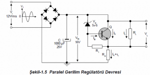 PARALLEL VOLTAGE REGULATOR SCHEMATIC CIRCUIT DIAGRAMS