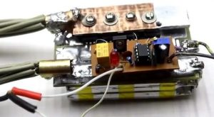 PORTABLE BATTERY PUNCTURE CIRCUIT (WITHOUT TRANSFORMER) SCHEMATIC CIRCUITDIAGRAM 2
