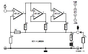 Piezo Amp Schematic Circuit Diagram