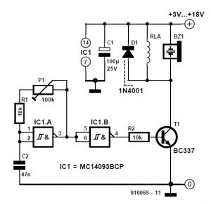 Piezo Amp Schematic Circuit DiagramPiezo Amp Schematic Circuit Diagram