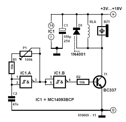Computer Off = Monitor Off Schematic Circuit Diagram