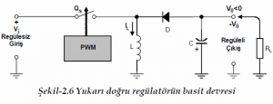 REFLECTOR (BUCK-BOST) REGULATOR SCHEMATIC CIRCUIT DIAGRAM