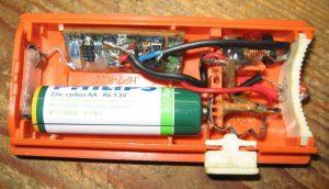 SINGLE BATTERY BRIGHT WHITE LED BURNER DC-DC CONVERTER SCHEMATIC CIRCUIT DIAGRAM 7