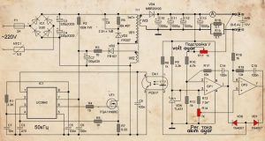 SMPS CIRCUIT SCHEMATIC ORIGINAL AND MODIFIYE 3