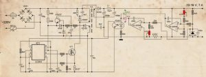 SMPS CIRCUIT SCHEMATIC ORIGINAL AND MODIFIYE 4