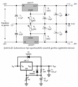 SPECIAL TYPE VOLTAGE REGULATORS SCHEMATIC CIRCUIT DIAGRAM 4