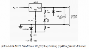 SPECIAL TYPE VOLTAGE REGULATORS SCHEMATIC CIRCUIT DIAGRAM 5