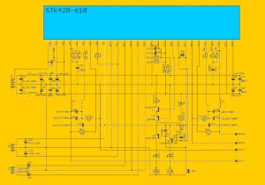 STK428-610 ANFI SCHEMATIC