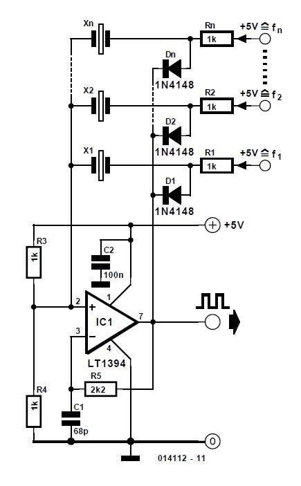 Gain and Phase Meter Schematic Circuit Diagram