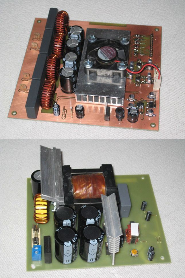 2X100W CLASS D AMPLIFIER CIRCUIT TL494 SMPS POWER SUPPLY ...