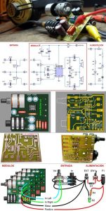 TDA2822M HEADPHONE AMPLIFIER SCHEMATIC CIRCUIT DIAGRAM