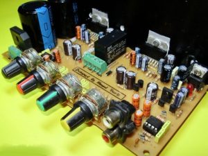 TDA7294 STEREO TONE CONTROLLED SPEAKER PROTECTED AMPLIFIER SCHEMATIC CIRCUIT DIAGRAM 3