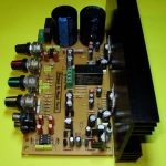 TDA7294 STEREO TONE CONTROLLED SPEAKER PROTECTED AMPLIFIER SCHEMATIC CIRCUIT DIAGRAM 5