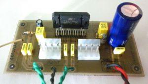 TDA7560 4X50 WATT BRIDGE AUTO AMPLIFIER SCHEMATIC CIRCUIT DIAGRAM 2