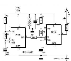 Wire Tracer Transmitter Schematic