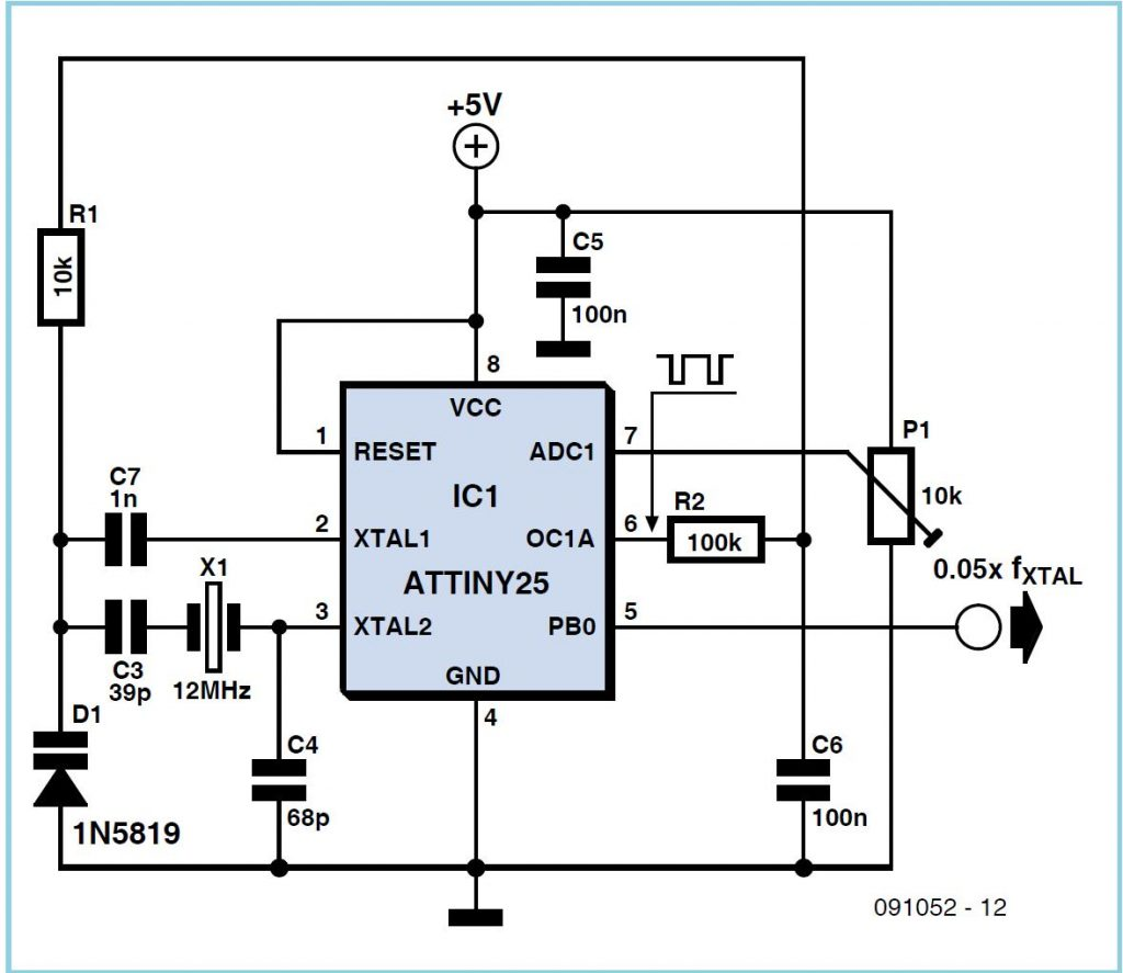 Crystal Pulling Schematic Circuit Diagram 2