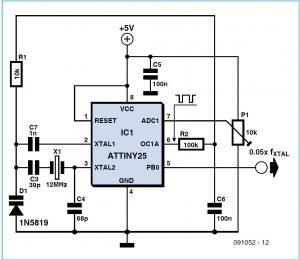 Crystal Pulling Schematic Circuit Diagram 2