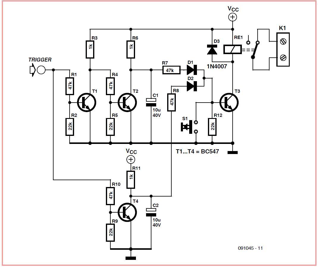Emergency Stop Schematic Circuit Diagram