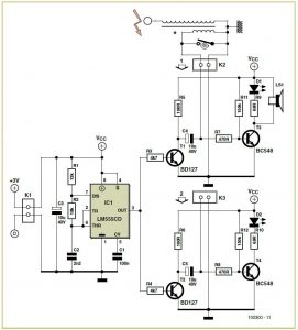 Ignition Timer Schematic Circuit Diagram