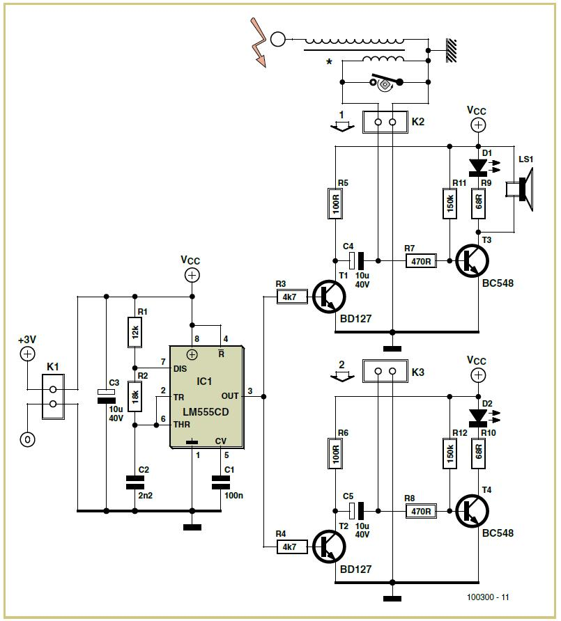 Ignition Timer Schematic Circuit Diagram