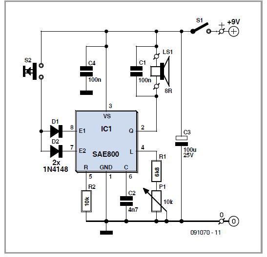 AM Receiver with Quadrature Mixer Schematic Circuit Diagram
