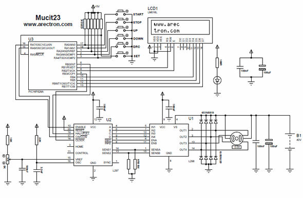 IRS2092 CLASS D POWER AMPLIFIER REFERENCE DESIGN 25W 500W Schematic Circuit Diagram