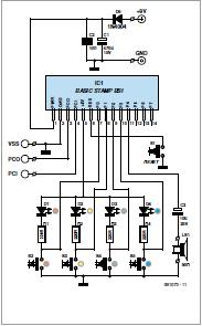Deep Discharge Protection for 12 V Batteries Schematic Circuit Diagram