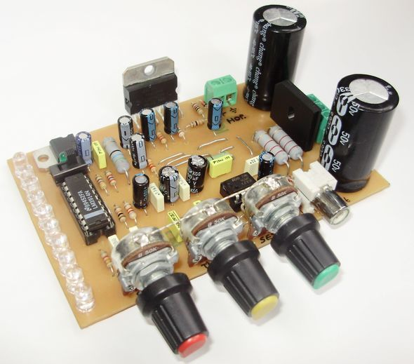 PIC16F628A L297 STEPPER MOTOR DRIVER WITH L298 Schematic Circuit Diagram