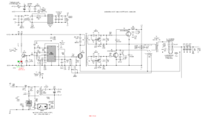 SIMPLE POWER SUPPLIES WITH LM337 AND LM317 SCHEMATIC CIRCUIT DIAGRAM