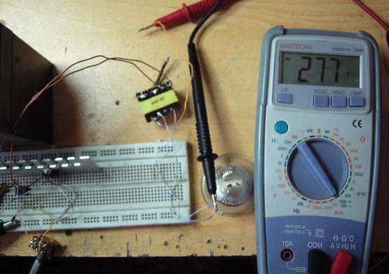 12V 220V DC-DC CONVERTER SCHEMATIC CIRCUIT DIAGRAM