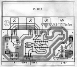 12V 230V DC-AC MOSFETLI SIMPLE INVERTER SCHEMATIC CIRCUIT DIAGRAM 3