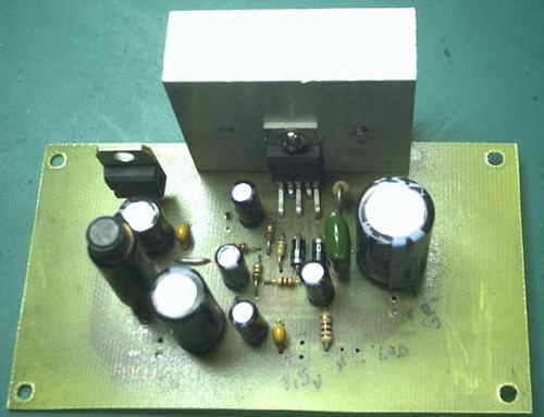12VOLT RUNNING AMPLIFIER FOR MP4 MP3 PLAYER TDA2030 SCHEMATIC CIRCUIT DIAGRAM