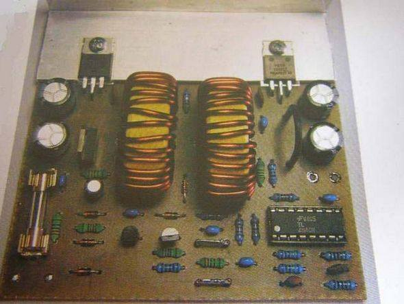 13.8 VOLT 40 AMPER SWITCHING MODE POWER SUPPLY SCHEMATIC CIRCUIT DIAGRAM
