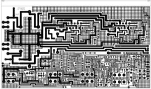 2X60 WATT AMPLIFIER + TONE CONTROL SCHEMATIC CIRCUIT DIAGRAM