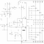 800W MOSFET AMPLIFIER CIRCUIT WITH IRFP240 IRFP9240 SCHEMATIC CIRCUIT DIAGRAM