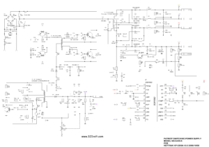 A400-K PATRIOT SWITCHING POWER SUPPLY SG6105D SCHEMATIC CIRCUIT DIAGRAM