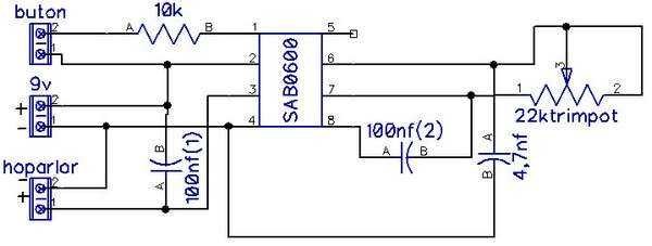 SIMPLE REMOTE CONTROL TESTER SCHEMATIC CIRCUIT DIAGRAM