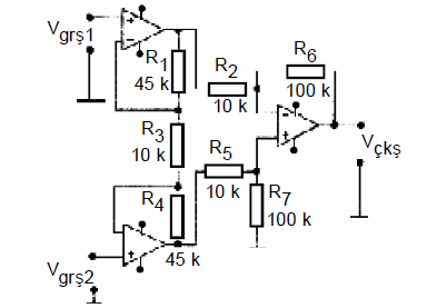 HIGH COMMON MODE RESPONSE RATE INSTRUMENTATION AMPLIFIER SCHEMATIC CIRCUIT DIAGRAM