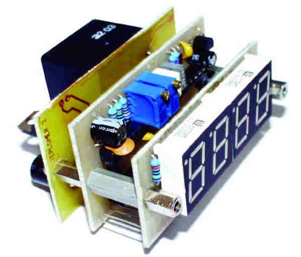ICL 7107 DIGITAL THERMOMETER CIRCUIT (SENSOR BC547B) SCHEMATIC CIRCUIT DIAGRAM