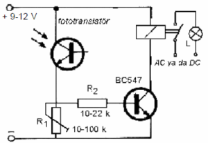 TRANSMITTER AND RECEIVER SCHEMATIC CIRCUIT DIAGRAM
