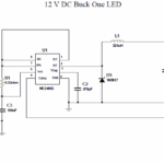 MC34063 350MA WHITE LUMI LED DRIVER 12 VOLT AC DC