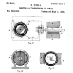NIKOLA TESLA DRAWINGS DESIGNS ELECTRONIC ELECTRIC (PATENT)