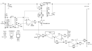 0-30V 0-3A ADJUSTABLE POWER SUPPLY SCHEMATIC CIRCUIT DIAGRAM