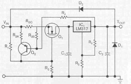 SIMPLE TONE CONTROL CIRCUIT BASS TREBLE RC FILTER SCHEMATIC CIRCUIT DIAGRAM