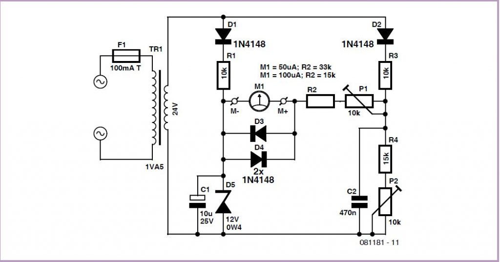 quartz clock timebase schematic circuit diagram