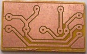 Print Circuit PCB Routes.