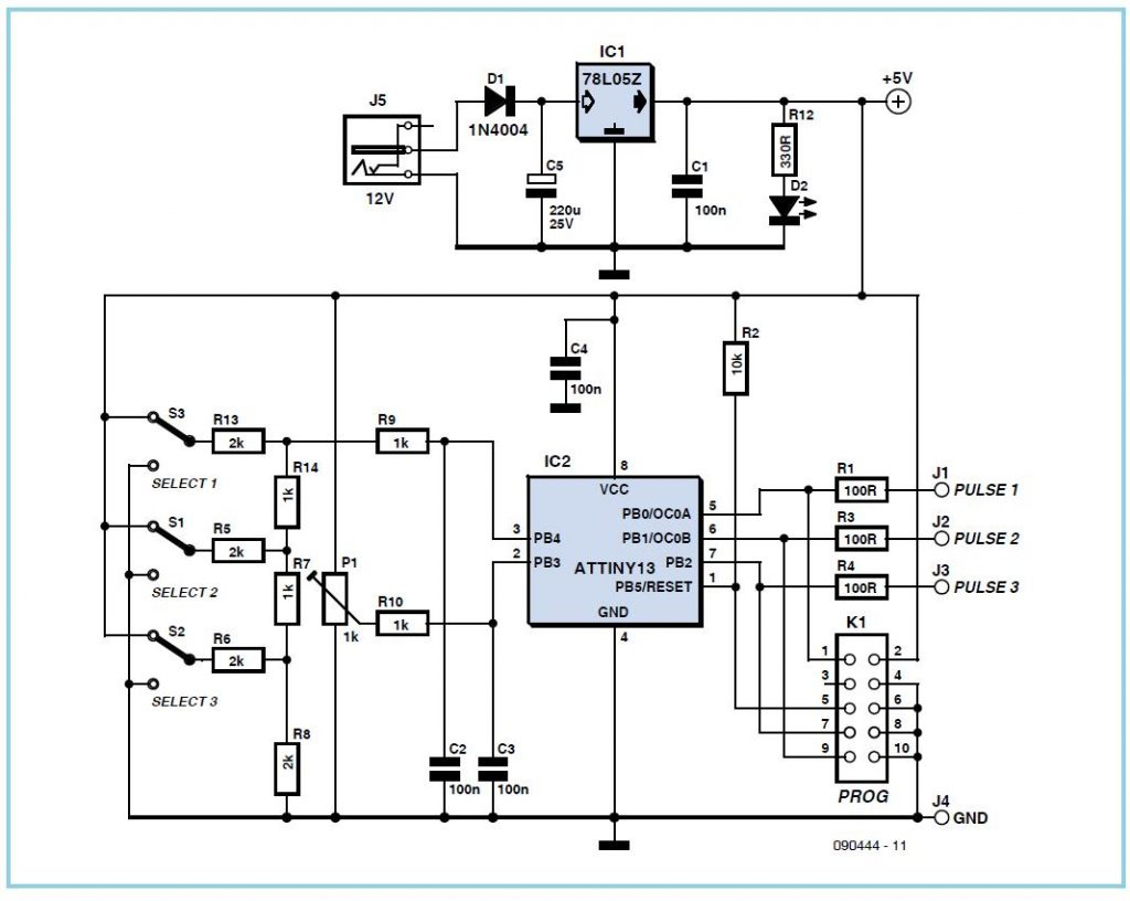 Solid State Voice Recorder Doorbell Cascade Electronic Schematics Tiny Pulser Schematic Circuit Diagram
