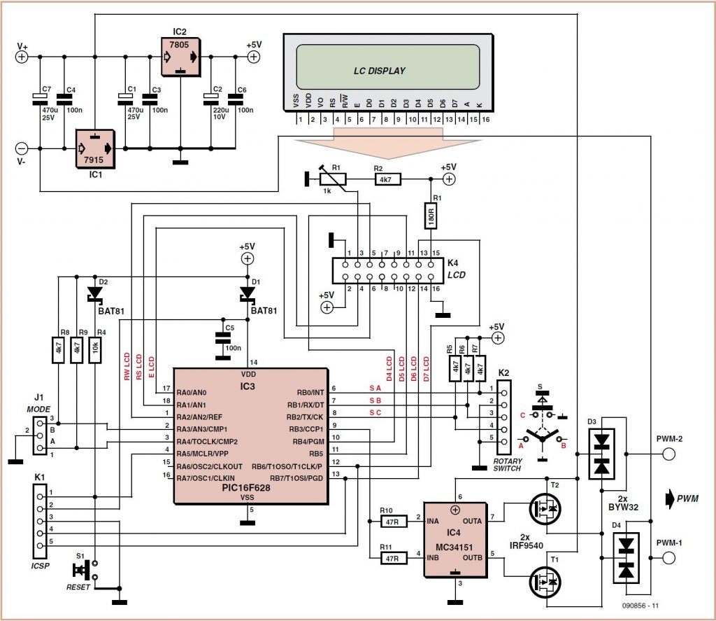 Tiny Timer Schematic Circuit Diagram