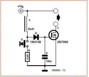 Virtual 9 V Battery Schematic Circuit Diagram 2